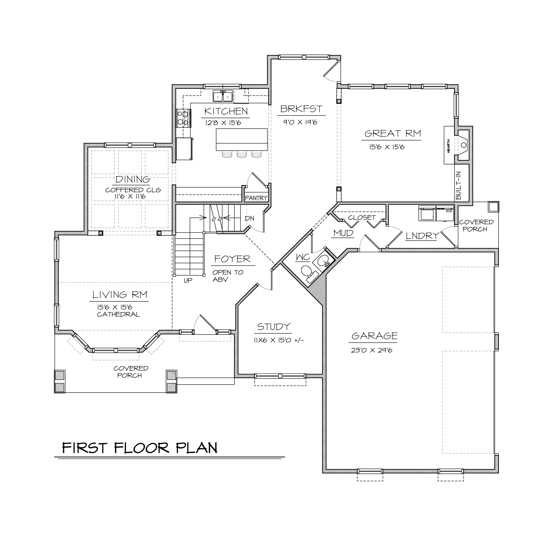 the Bedford - Custom built home floorplan