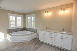 luxury bathrooms with NH's finest Home builders - Douglas Hill Companies
