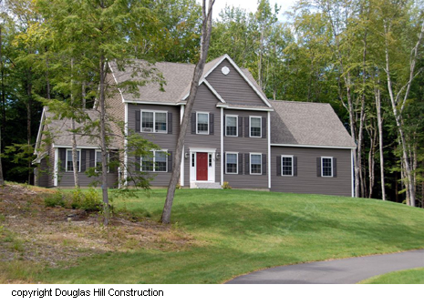 Custom homes from custom home builders in NH - Douglas Hill Construction