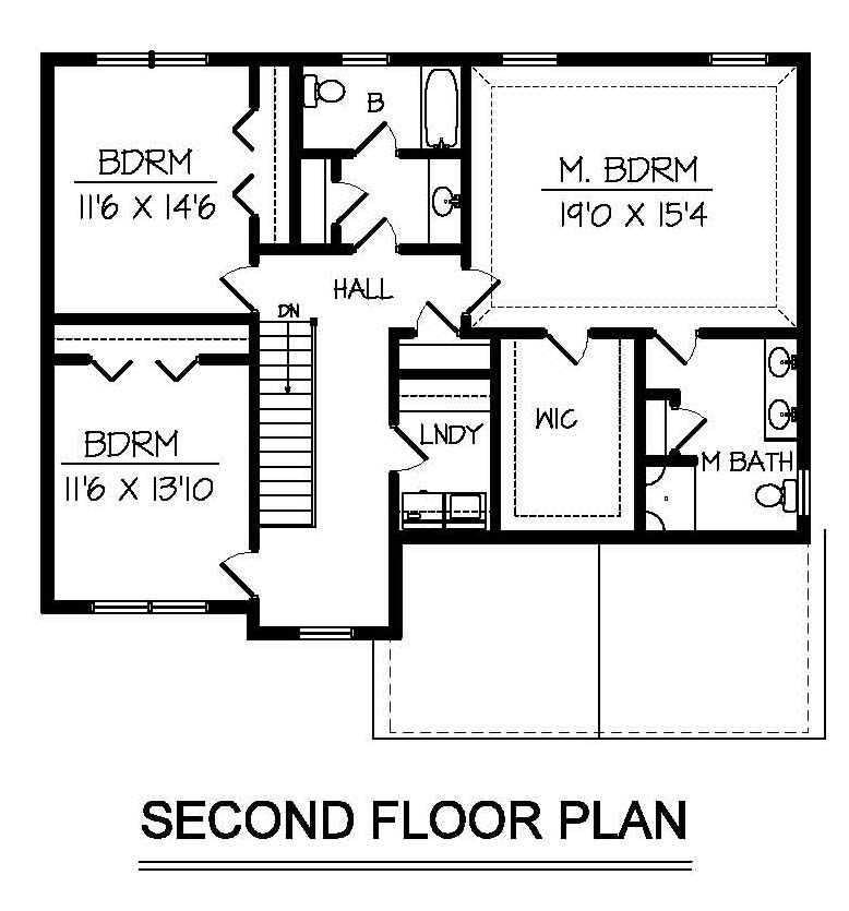 Two story custom home floorplans in NH