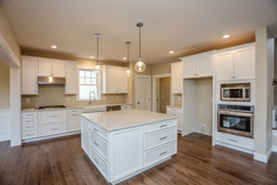 modern kitchens and interiors in NH custom built homes